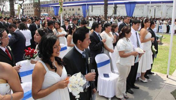 Esta propuesta del Senaju beneficiará a miles de parejas. (USI)
