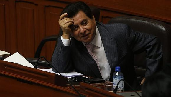 José León: Presidenta del Congreso asegura que no lo blindarán. (Rafael Cornejo)