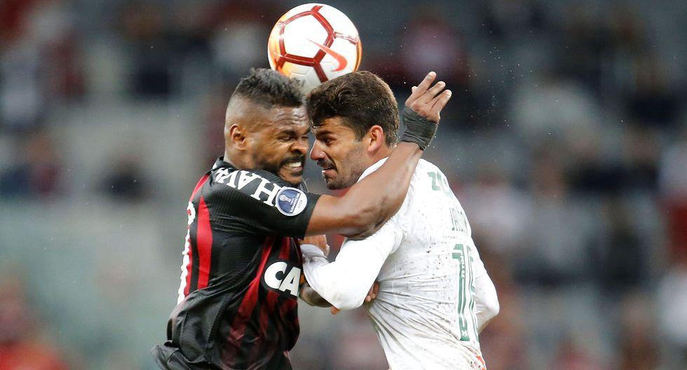 Atlético Paranaense ganó 2-0 a Fluminense por la semifinal de la Sudamericana. (EFE)