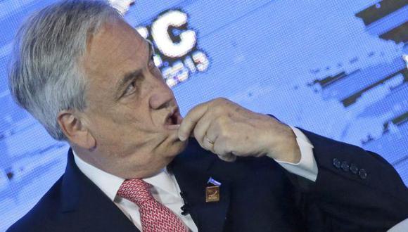 Sebastián Piñera advierte sobre cuchillos largos en la derecha de Chile. (EFE)