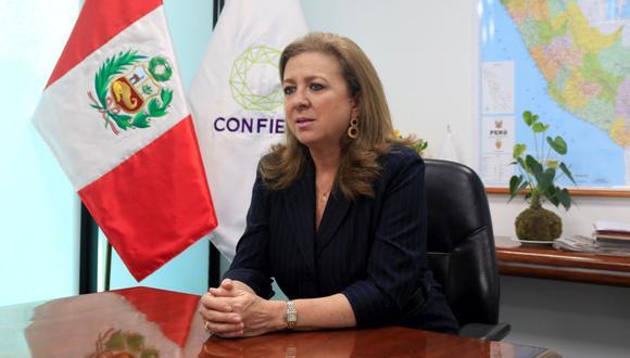 """""""Tenemos expectativas de que el trabajo pueda continuar en estos últimos meses de gobierno"""", dijo María Isabel León. (Foto: GEC)"""