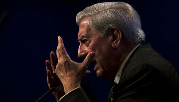 Mario Vargas Llosa habló de Humala en una entrevista con la cadena CNN.  (AP)