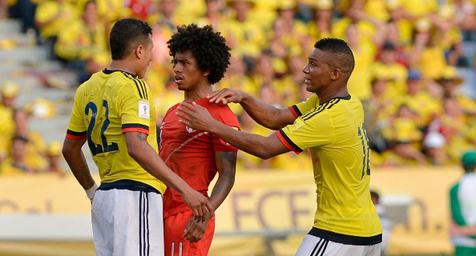 Perú inició las Eliminatoria con una derrota en Colombia. La 'bicolor' mostró un buen juego pero no tuvo contundencia y pagó caro los errores. Luego de dos procesos de clasificación a un Mundial en los que comenzábamos sumando tres puntos, el camino a Rusia 2018 empezaba en 0. (Getty Images)