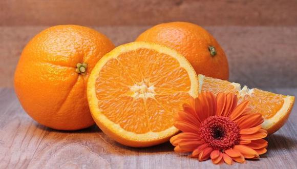 Las naranjas son uno de los cítricos con más vitamina C. (Foto: Pixabay)