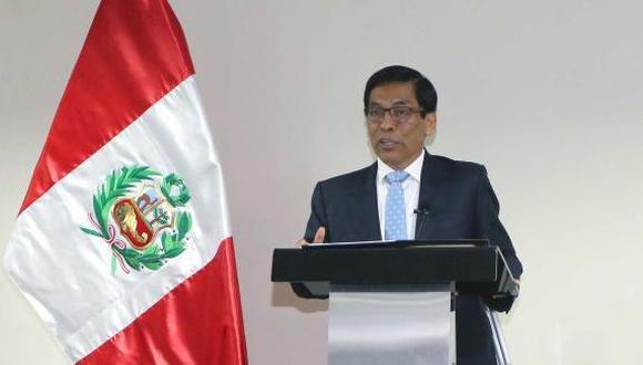 La agricultura será el motor del desarrollo del país, aseguró el ministro José Hernández. (USI)