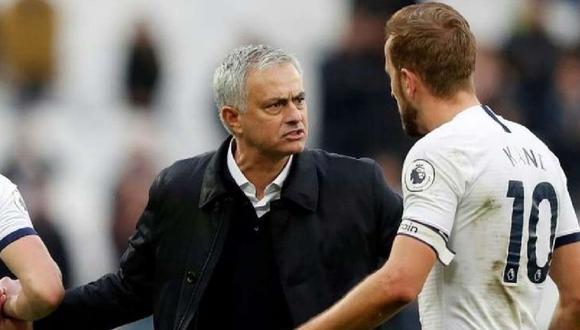 José Mourinho llegó a Tottenham en la temporada 2019. (Foto: AFP)