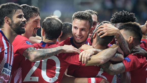 Atlético de Madrid estrenará su título de súper campeón de Europa. (AFP)
