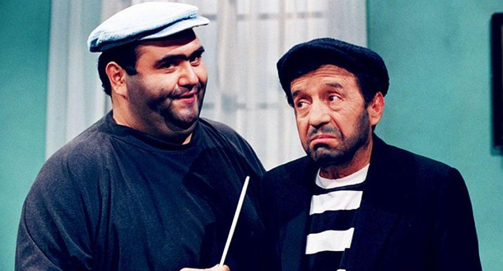 Roberto Gómez Bolaños y los personajes más famosos que interpretó en la televisión. (Foto: Televisa)