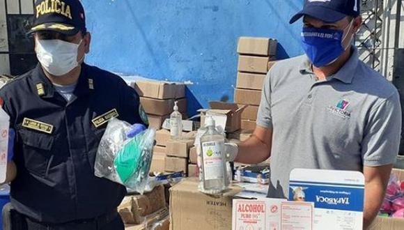 """George Forsyth sobre productos médicos incautados: """"Qué gente tan desgraciada puede haber que se juega con la salud de todos los peruanos"""". (Instagram)"""