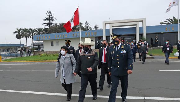 El presidente Pedro Castillo llegó a la Pampa de Ayacucho para juramentación simbólica. (Foto: Andina)