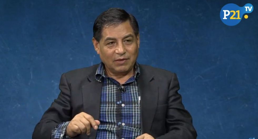 Pedro Yaranga, experto en temas de seguridad.