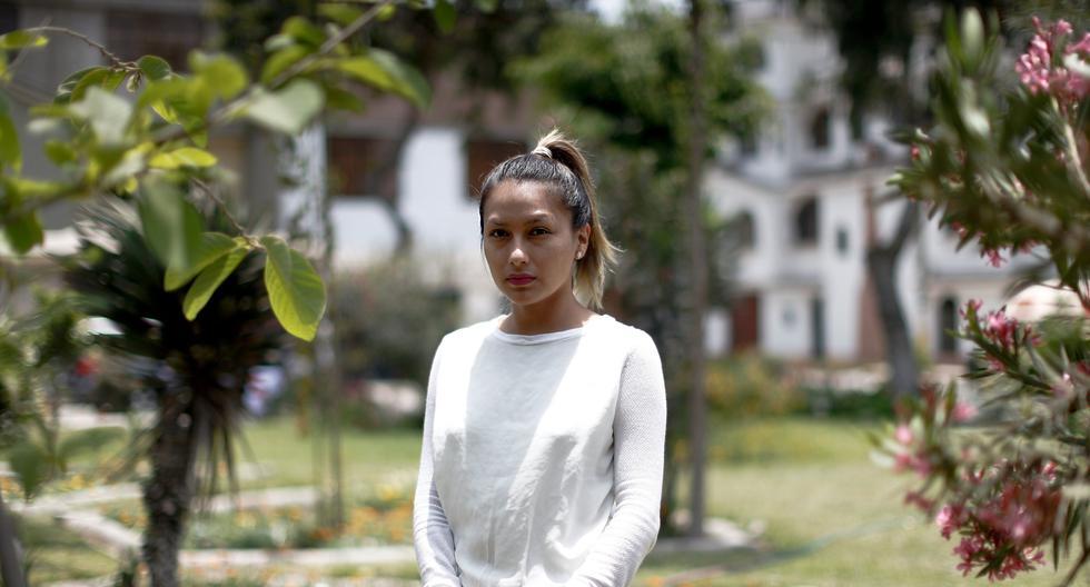 Arlette contreras no desvanece en su búsqueda de justicia, pese a que está muy cansada emocionalmente. (Renzo Salazar)