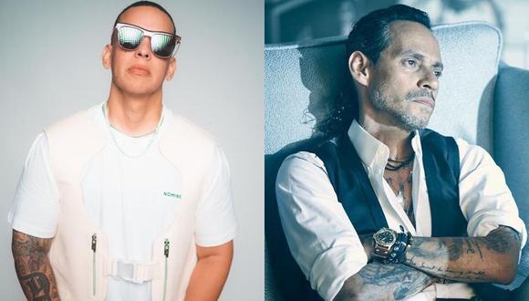 """Daddy Yankee sobre colaboración con Marc Anthony: """"Uno de mis deseos era grabar una salsa. (Foto: @daddyyankee/@marcanthony)."""