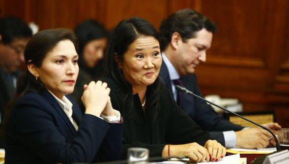 Keiko Fujimori: Abogado de la lideresa de Fuerza Popular quiere estar en interrogatorio a Odebrecht. (Luis Centurión/Perú21)
