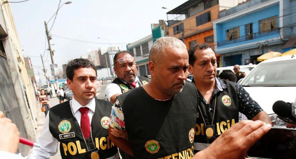 Julio César Rojas Mogollón fue detenido, liberado y luego recapturado por la Policía. (GEC)