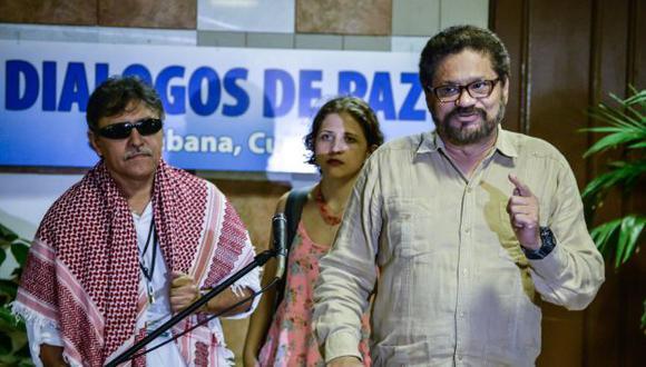 Diálogo de paz se desarrolla en La Habana con representantes de las FARC y de Colombia. (AFP)