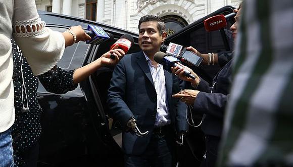 Luis Galarreta manifestó que, de llegar Keiko Fujimori a la Presidencia, harían acuerdos políticos. (Foto: Archivo El Comercio)