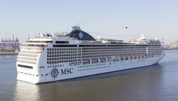 Impulsan el turismo con llegada de crucero. (Foto: MSC Cruceros)