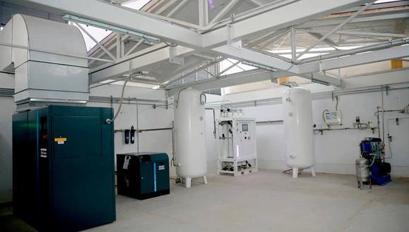 Junín: Dos plantas de oxígeno instaladas por la UNI en los hospitales Domingo Olavegoya y Manuel Angel Higa Arakaki no cumplirían con normas técnicas. (Foto Referencial/Oxigena 47)