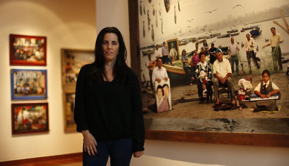 Morgana Vargas  Llosa ha trabajado  como reportera gráfica  desde 1996, sobre todo para el diario español El País. (Luis Gonzales)