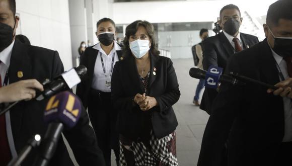 La vicepresidenta Dina Boluarte se reunió con el Consejo de la Prensa Peruana y la Asociación de Prensa Extranjera en el Perú. (Foto: GEC)