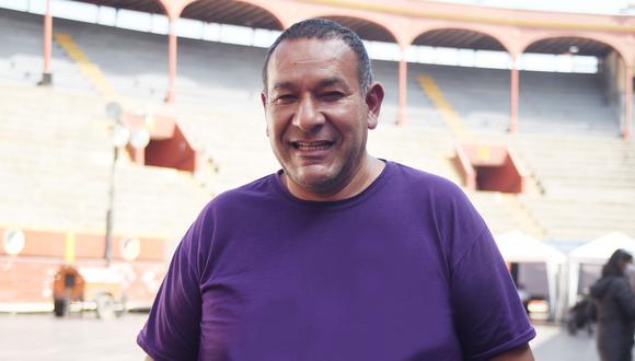 Eliseo Soto es natural de Ayacucho y se enroló al Ejército en la década del 80.