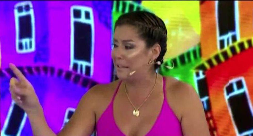 Karla Tarazona se quiebra en vivo por situación de sus hijos. (Captura de imagen)