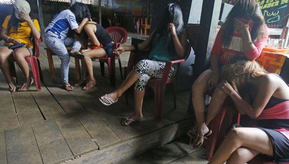 La mujeres rescatadas de la zona de La Pampa fueron llevadas a la provincia de Tambopata para que se les brinde protección integral. (Foto: Canal N)