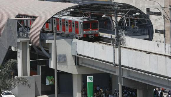 INSEGURIDAD. Desperfecto en Estación Gamarra obligó a suspender el servicio por varias horas. (Luis Gonzáles)