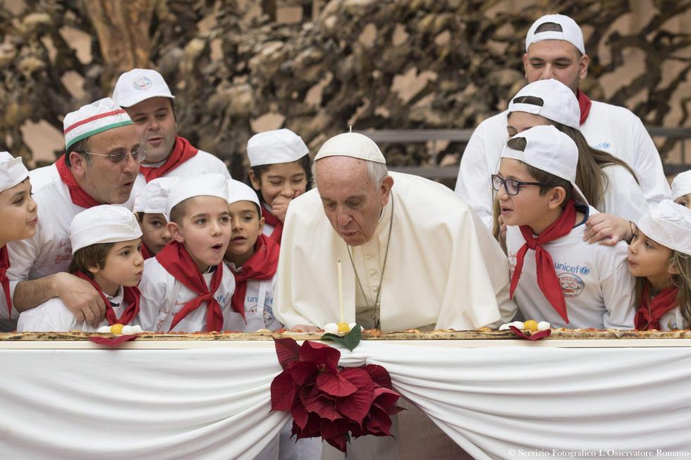 Papa Francisco: El Vaticano así celebra los 81 años del sumo Pontífice. (AFP)