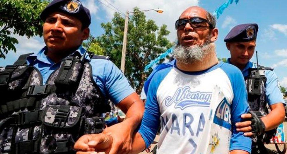 La orden de libertad para Alex Vanegas, opositor del presidente Daniel Ortega, fue emitida el miércoles pero deberá presentarse el 30 de enero ante la jueza para dirimir su caso. (Foto: Twitter/@SilviaNadine)