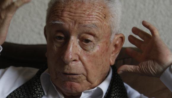 Arturo Salazar Larraín. Periodista, abogado y excongresista. (Nancy Dueñas)