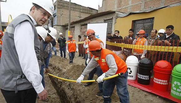 Costo de gas natural llega a S/.40 mensuales en viviendas. (Mario Zapata)