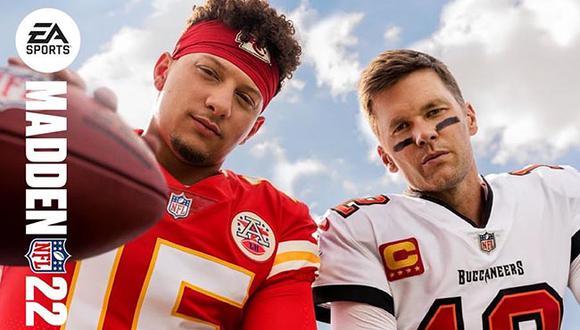 Los mariscales de campo, Tom Brady y Patrick Mahomes, serán los jugadores que estarán en la portada del videojuego.