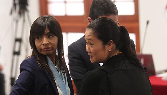 Giulliana Loza, abogada de la lideresa de Fuerza Popular, confirmó la diligencia. (Foto: GEC)