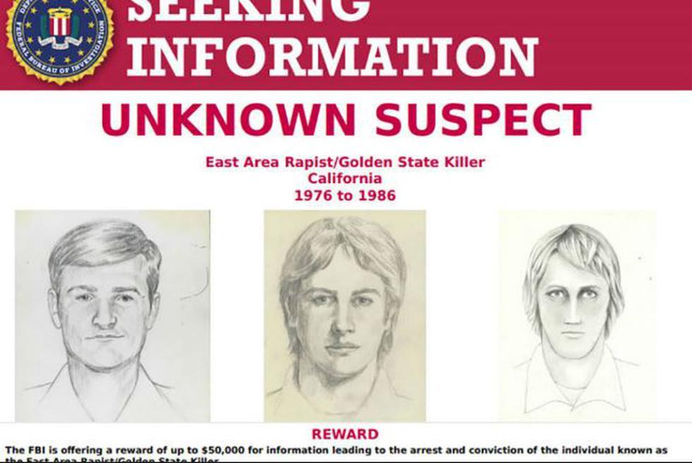 Tras permanecer alrededor de 40 años prófugo, un sujeto a quien se le acusa de haber asesinado a 12 personas, violado a otras 45, y robado en 120 residencias fue arrestado en California. (AFP)
