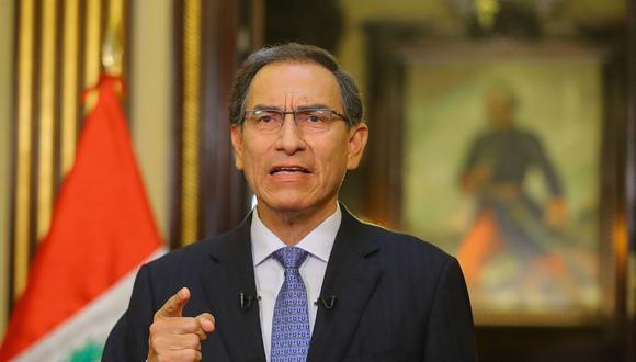 El presidente de la República, Martín Vizcarra, dijo que se debe respetar a las instancias que establecieron la reparación civil para Odebrecht. (Foto: GEC)