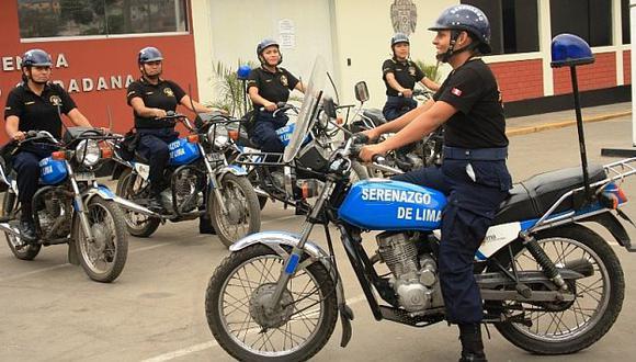 Unidad motorizada de serenas patrullará el casco del Centro Histórico. (USI)