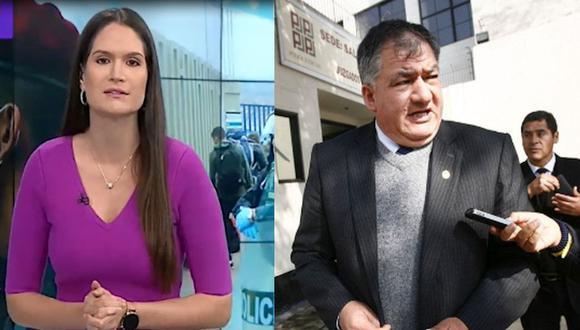 Lorena Álvarez arremetió contra el fiscal Marco Guzmán Baca. (Latina/GEC)