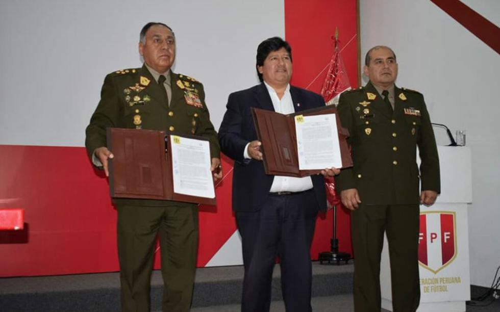 ¿En qué consiste el prometedor acuerdo entre el Ejército Peruano y la Federación Peruana de Fútbol? (Ejército Peruano)