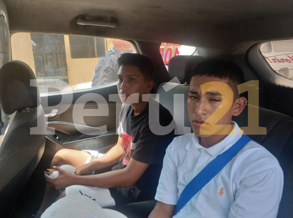 La Policía continúa con el recorrido para detener a los otros sujetos que huyeron con el dinero del banco. (Perú21)