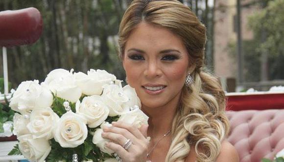 Sheyla Rojas se vistió de novia…. ¿Es una indirecta para Pedro Moral? (USI)