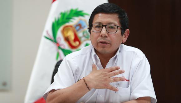 Edmer Trujillo justificó el empleo de los implicados. (GEC)