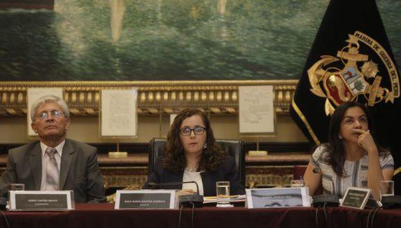 Legisladora fujimorista Rosa Bartra preside la comisión Lava Jato. (Piko Tamashiro).
