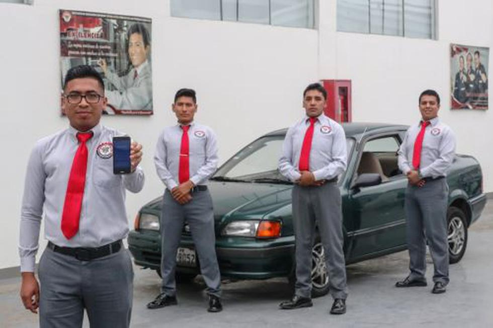 Jóvenes lanzan aplicativo para reducir el robo de vehículos (Andina)