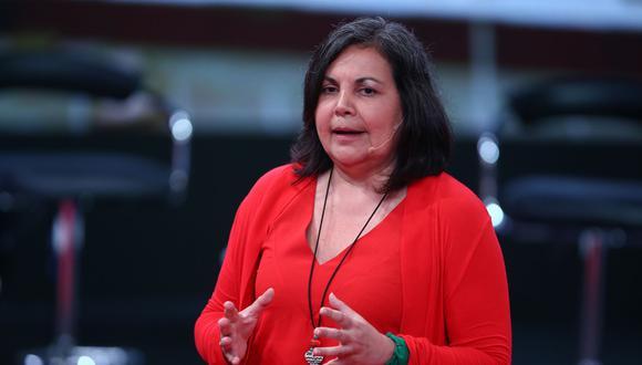 La congresista Rocío Silva Santisteban encabeza única lista para la presidencia del Congreso. (Foto: Andina)