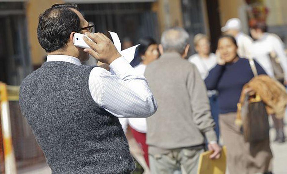 Todos los usuarios de teléfonos móviles podrán usar el servicio. No es necesario tener un smartphone. (USI)
