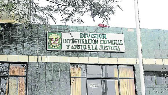 Agentes de la Divincri de Ica iniciaron las investigaciones para ubicar a los responsables del asalto. (GEC)