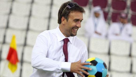 Gabriel Batistuta mantiene una amistad con Ángel Comizzo. (AP)