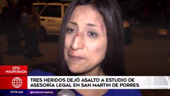 El estado de salud del abogado es delicado. (Foto: Captura América Noticias)